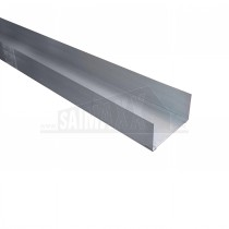 Metal Economy Partitioning Track 72mm x 3.0m (50mm DEEP Depth)