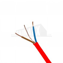 RED Fire Cable Flexible 2 Core & Earth Cable FXP200 1.5mm x 100m ROLL