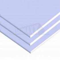 British Gypsum Gyproc SoundBloc BLUE Plasterboard 12.5mm 2.4m x1.2m Tapered Edge
