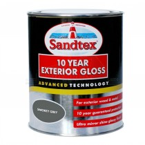 Sandtex 10 Year Exterior Gloss SMOKEY GREY 750ml