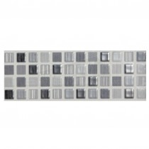 Willow Ceramic Wall Tile 248x80mm Grey Strip (6 per box)