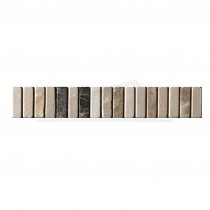 Dartmoor Naturals 305x48mm BEIGE Marble Strip (6 per box)