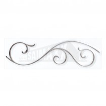 Reflections Ceramic Wall Tile 248x80mm Filigree Strip (6 per box)