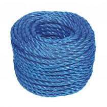 Polypropylene 3 Strand Blue Rope 12mm x 30m