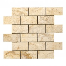 Elite Bali CREAM BRICK Mosaic Sheet 305x305mm