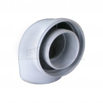 Biasi 90 Degree Elbow For Vertical Flue S/E (91)1099902561
