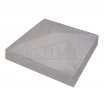 "4-Sided Concrete Pier Cap 225 x 225mm (9"" Square approx)"
