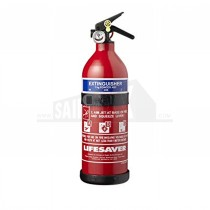 Lifesaver 1kg Multi Purpose Fire Extinguisher PS1X-UK