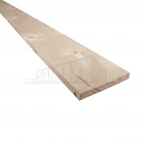 22 x 150 x 3300mm Nom PSE Softwood Section (Floorboard) Whitewood SF