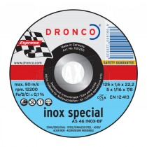 "Dronco AS46 T-Inox 1.9mm Thin Slitting Discs (9"") 230mm"