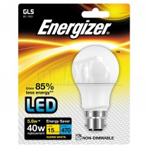 Energizer LED GLS Bulb B22 (Large Bayonet) WARM WHITE 5.6w