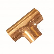 Endfeed Copper Equal Tee 15mm