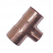 Endfeed Copper Centre Reducing Tee 22x22x15mm (L-2-R-2-C)