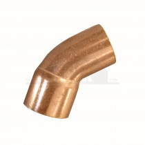 Endfeed Copper 45 degree Street Elbow (MxF) 15mm