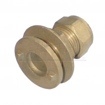 Compression Brass Tank Connector 15mm