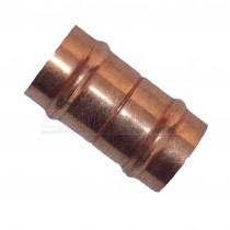 Solder Ring Copper Straight Coupler 15mm
