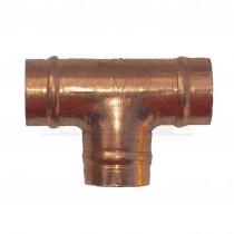 Solder Ring Copper Equal Tee 22mm
