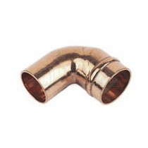 Solder Ring Copper 90 degree Street Elbow Bend (MxF) 15mm