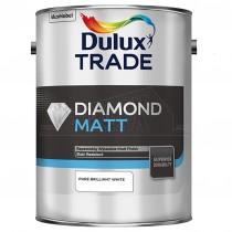 Dulux Trade Diamond Matt Pure Brilliant White 5L Emulsion