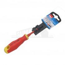 "Hilka 2.5"" (60mm x PH0) Insulated Soft Grip Screwdriver (PHILLIPS) VDE 1000v"