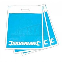 Silverline Carrier Bags 125pc