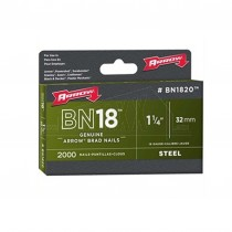"Arrow BN18 Brad Nails BN1820 - 1.1/4"" 32mm 2000pc STEEL Head"