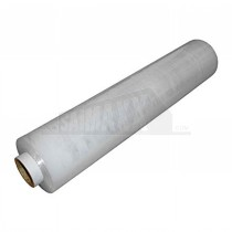 400mm x 250m 17mu CLEAR Hand Film Stretch Pallet Wrap (Extended length tube)