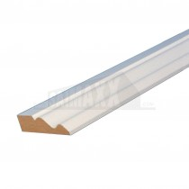 18 x 68mm (4.2m) Skirting /Architrave White Primed MDF Per Piece